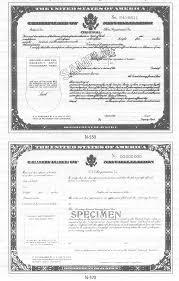 naturalization document