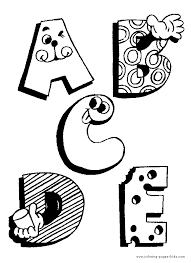 educational coloring pages for kids
