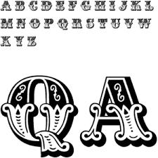 illuminated letters font