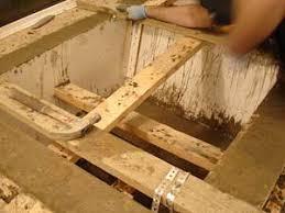 concrete bath tubs