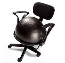 pilates ball chair