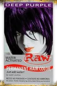 dark purple hair dye