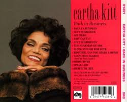 Eartha Kitt - Back In Business
