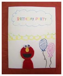 elmo birthday invite