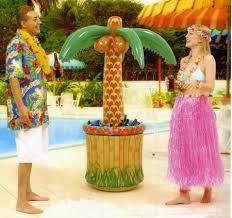 luau party decoration