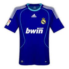 camiseta real madrid 09