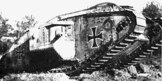 german ww1 tanks