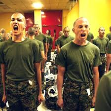 army boot camp training