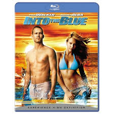 into the blue bluray