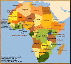 congo africa map