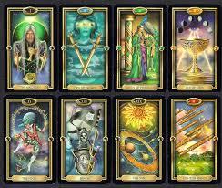 deck of tarot cards