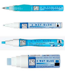 2 way glue pen