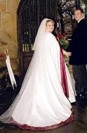 bridal cloaks