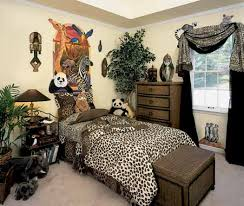 safari bedroom decor