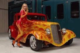 custom flame paint