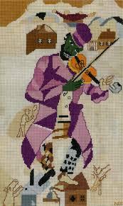 chagall green violinist