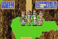 shining force gba