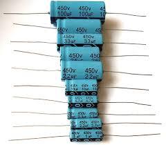 capacitor axial