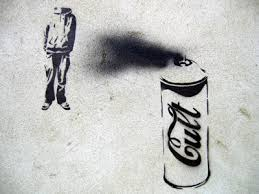 spray paint can stencil
