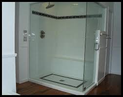 bathroom shower stall