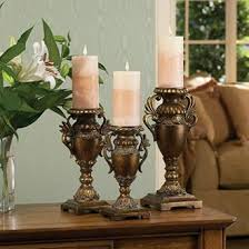 bronze candle sticks