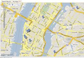 maps of nyc