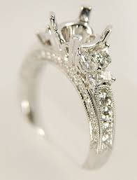 calla cut diamond ring