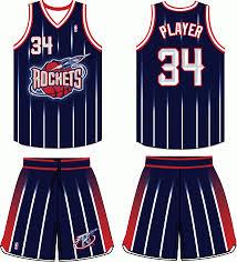houston rockets uniforms