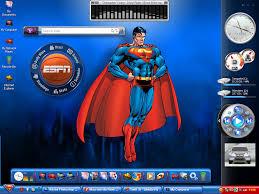 superman desktop themes