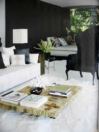 black painted rooms