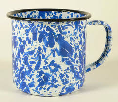 enamelware mug