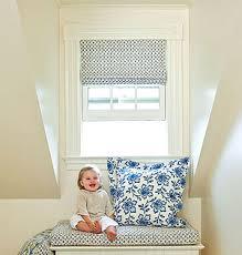 baby room window treatment