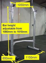 bench press squat rack