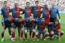barcelona alineacion