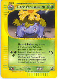 pokemon cards venusaur