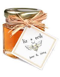 honey wedding favor