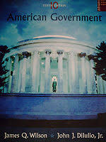 american government textbook