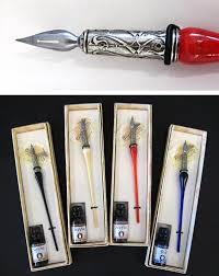 murano glass pen