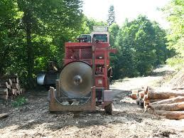 logging saw