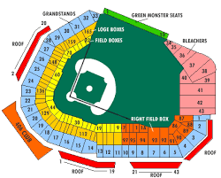 fenway seating map