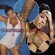 keyshia cole tattoo on her wrist