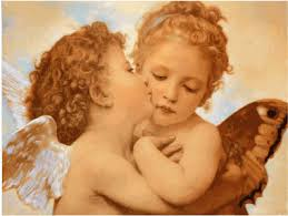 an angel kiss