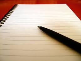 a blank paper