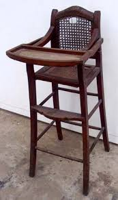 antique high chairs