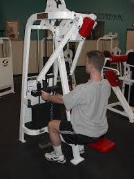 back machine exercise