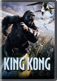 dvd king kong