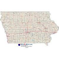 iowa highway maps