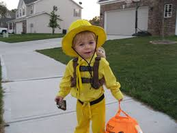 man with yellow hat