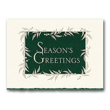 holiday greetings cards