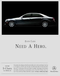 mercedes benz advertisement